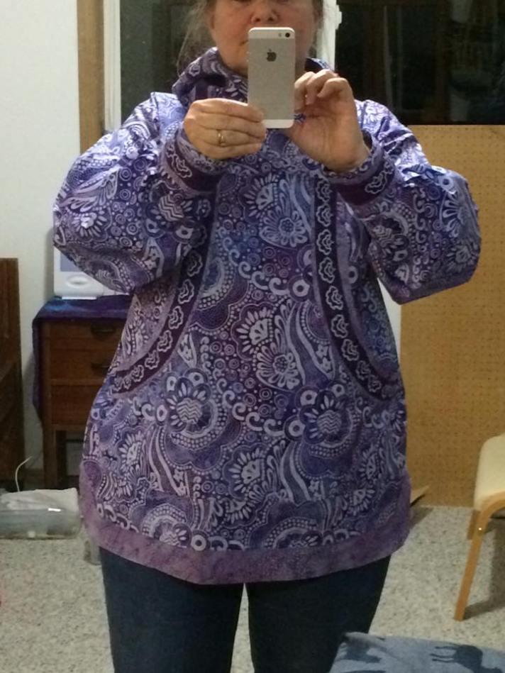 lee in purple kuspuk
